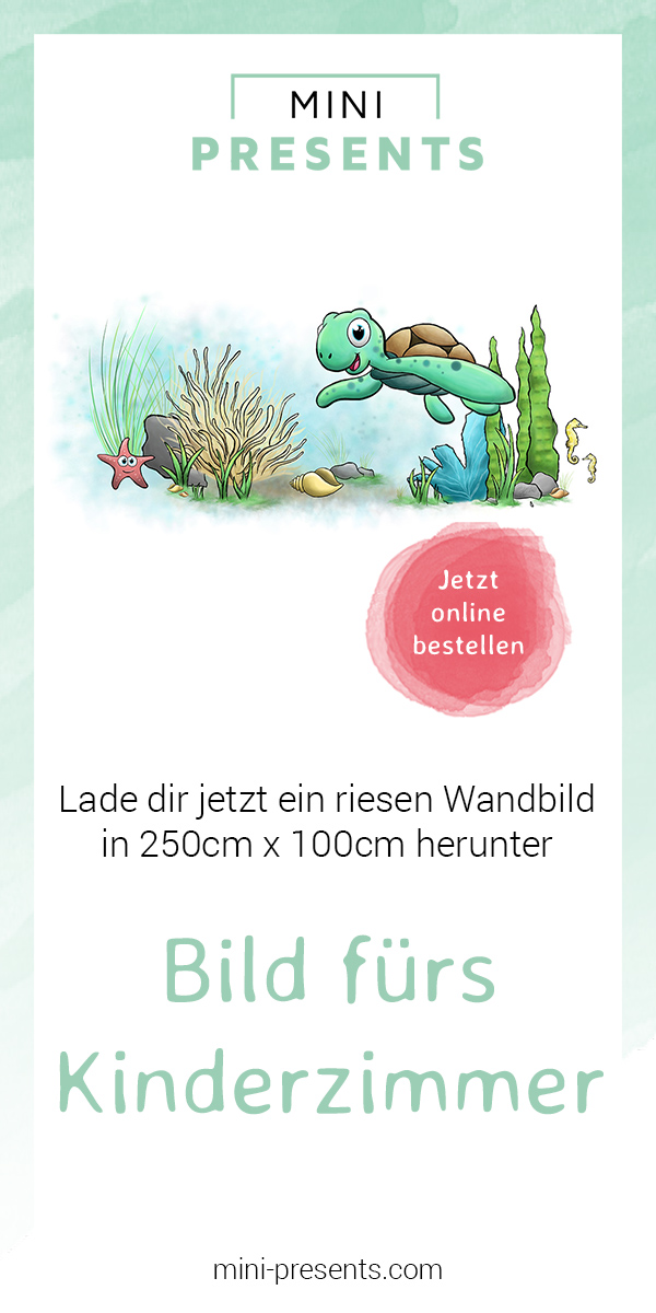 mini-presents Onlineshop | Unterwasser Bild fürs Kinderzimmer in ...