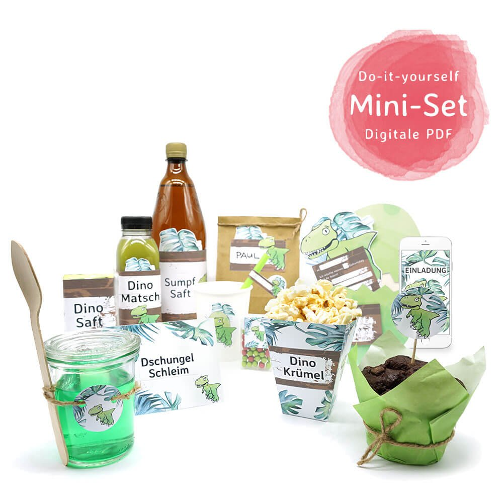 Mini presents onlineshop do it yourself dinosaur party decoration do it yourself dinosaur party decoration mini set solutioingenieria Image collections
