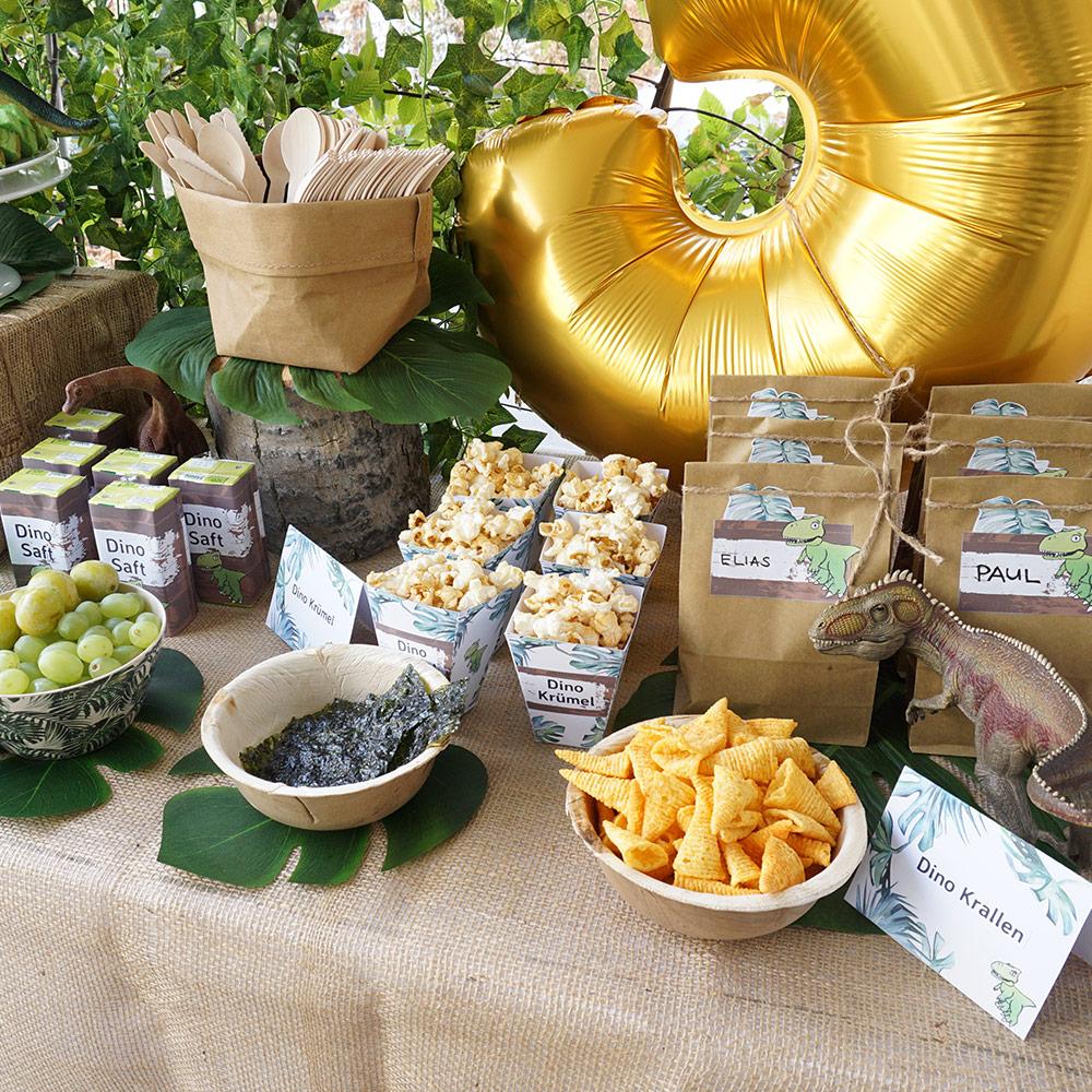 mini-presents Onlineshop | Dinosaur snack boxes party decoration ...