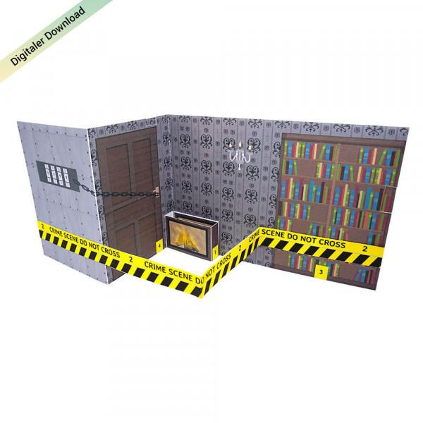 Do-it-yourself Escape Room Geschenkkarte als Gutschein ausdrucken & basteln