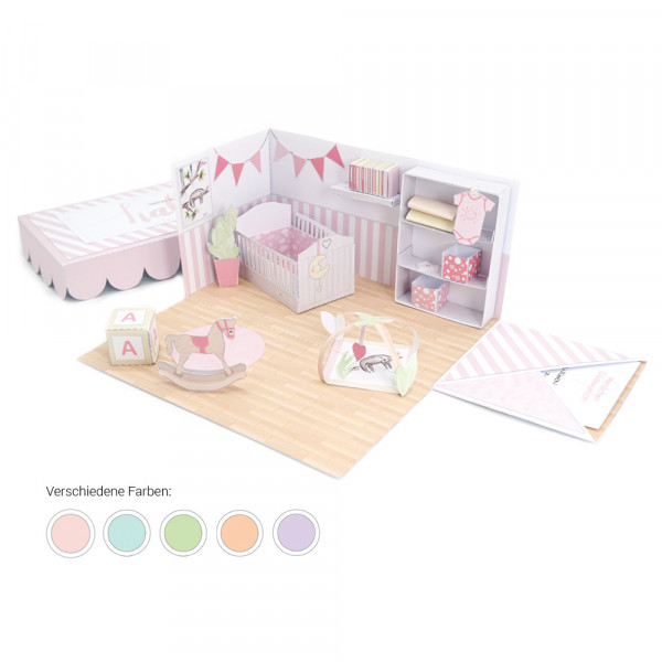 """""""babybox"""" DIY Geschenk zur Geburt oder Taufe"""