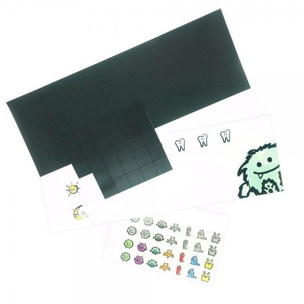 DIY-Kit für den Zahnputzplan